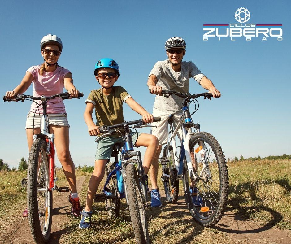 Elegir las bicicletas que mejor se adapten a ti y a los tuyos y gozar
